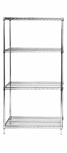 Chrome Wire Shelving Starter